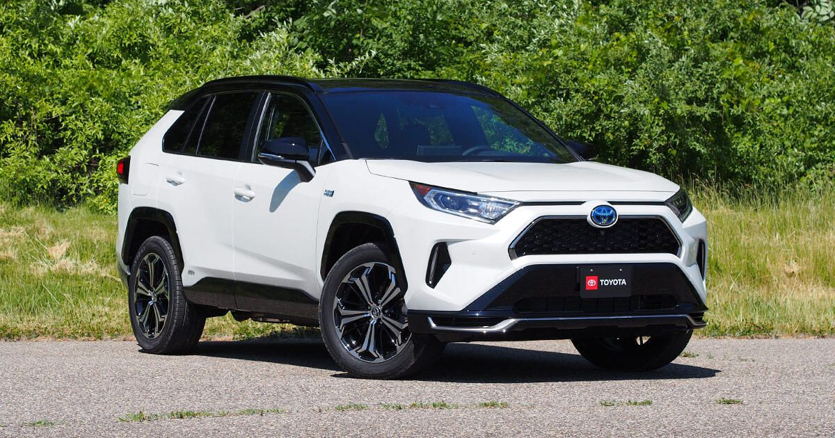 2021 Toyota Rav4 Prime First Drive Review Have Your Cake And Eat It Too Newzradar